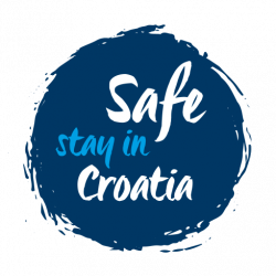 Safe stay in Croatia_stamp